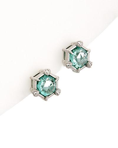 Judith Ripka Lola Silver 17.00 ct. tw. Spinel Earrings