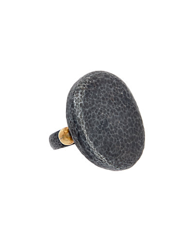 Gurhan Pebble 24K over Silver & Silver Ring