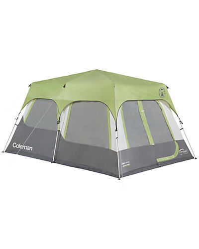 Coleman Signature 10-Person Instant Cabin Tent with Rainfly