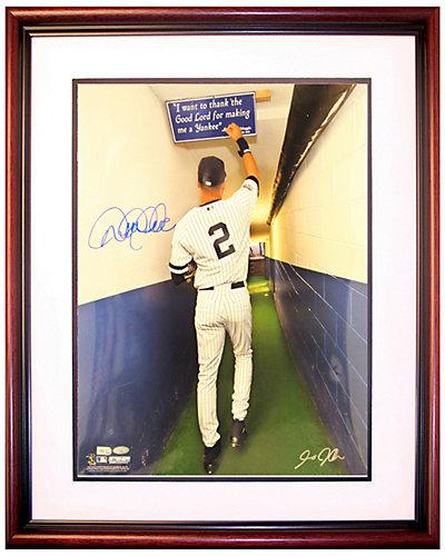 Steiner Sports Derek Jeter Signed Yankee Stadium Tunnel Photo