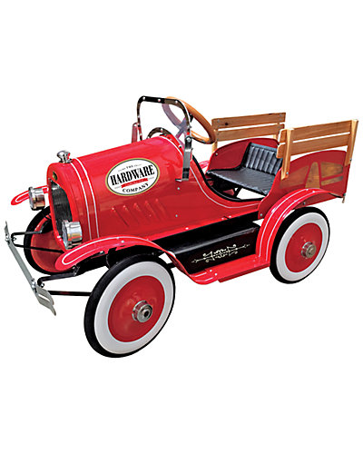 Dexton Kids Vintage Red Delivery Truck