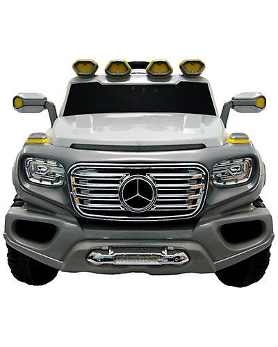 Mercedes G SUV Silver