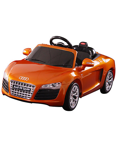 Audi R8 Spyder 12-Volt Battery-Powered Ride-On